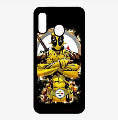 coque custodia cover fundas hoesjes j3 J5 J6 s20 s10 s9 s8 s7 s6 s5 plus edge B32063 Pittsburgh Steelers deadpool FJ0534 Samsung Galaxy A20 Case