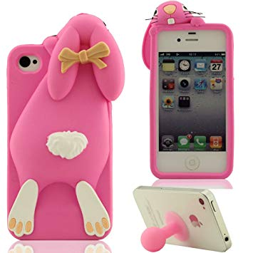 iphone 4 coque silicone 3d