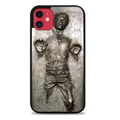 Coque iphone 5 6 7 8 plus x xs xr 11 pro max Star Wars Han Solo Frozen in Carbonite L1674