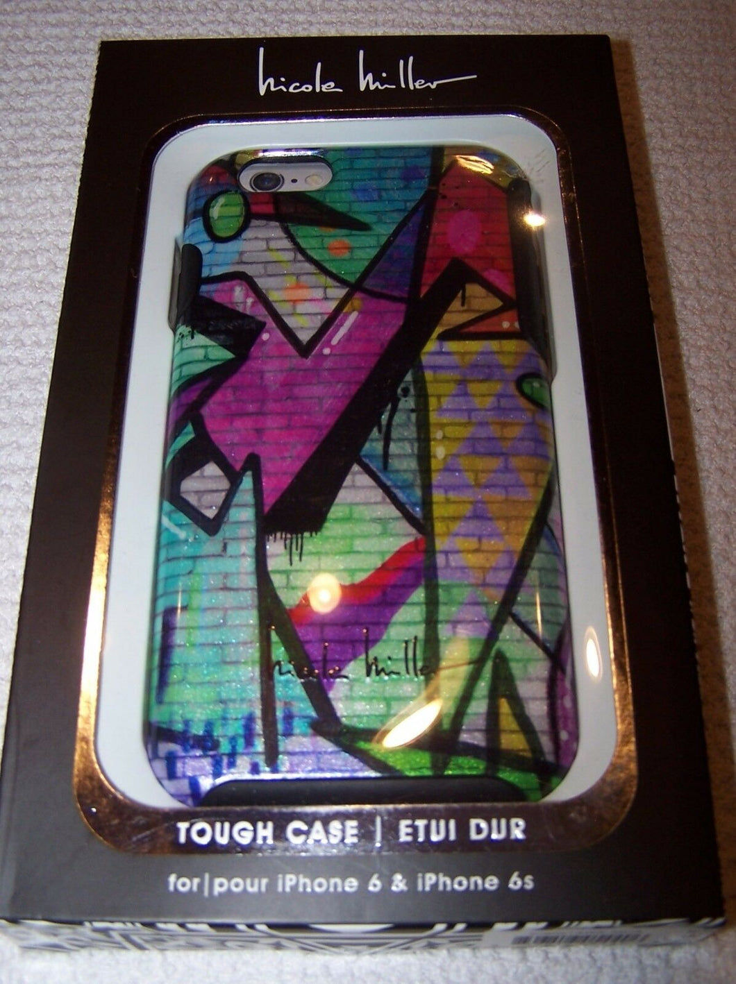 shimer finish coque iphone 6 nicole miller