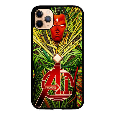 vision marvel art Z0821 iPhone 11 Pro Max coque