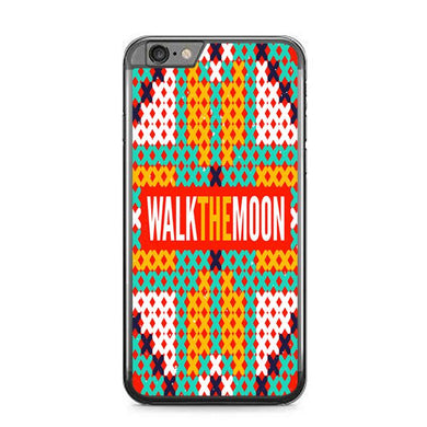 walk the moon band logo Z0448 iPhone 6 Plus, 6S Plus coque