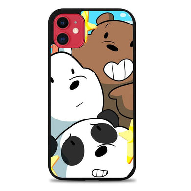 we bare bears Z4591 iPhone 11 coque