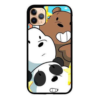 we bare bears Z4591 iPhone 11 Pro Max coque