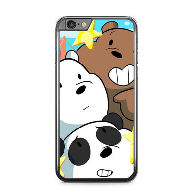 we bare bears Z4591 iPhone 6 Plus, 6S Plus coque