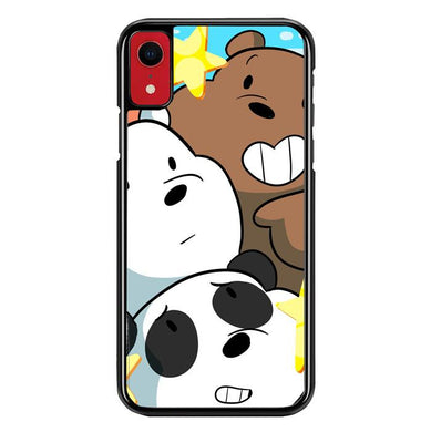 we bare bears Z4591 iPhone XR coque