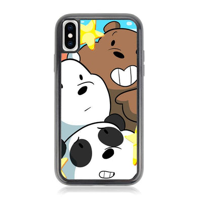we bare bears Z4591 iPhone X, XS coque