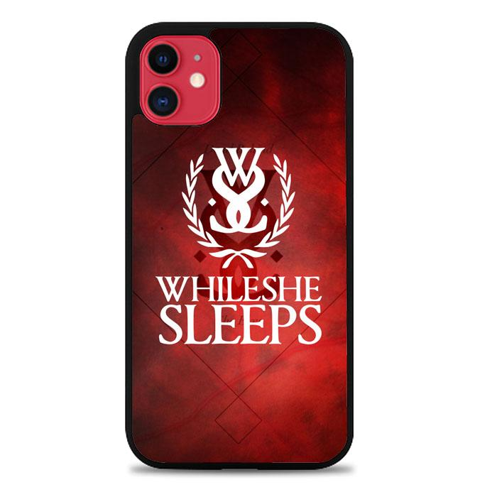 while she sleeps Z3599 iPhone 11 coque