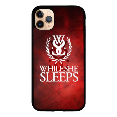 while she sleeps Z3599 iPhone 11 Pro Max coque