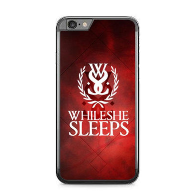 while she sleeps Z3599 iPhone 6 Plus, 6S Plus coque