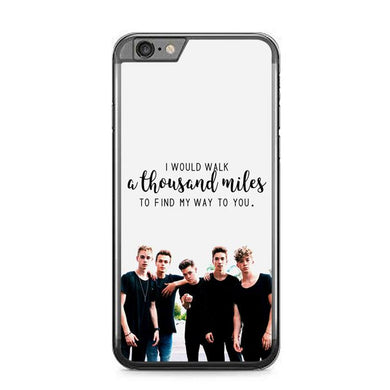 why dont we Z4543 iPhone 6 Plus, 6S Plus coque