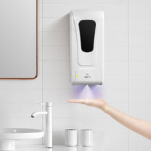 Load image into Gallery viewer, 1000ml Wall-Mount Automatic IR Sensor Soap Dispenser Touch-Free Lotion Pump Touchless Liquid Home For Kitchen Bathroom