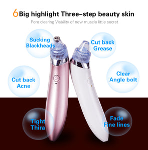2020 Best Sale Comedones Blackhead Remover Vacuum For Homeuse Blackhead Acne Removal