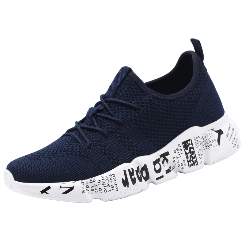Mens Sneakers Quality Fashion Man Casual Shoes Comfortable Mesh Outdoor Walking Jogging Shoes
