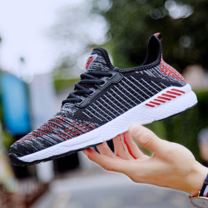 Summer Men Shoes Lac-up Mesh Men Casual Shoes Lightweight Couple Sneakers Feminino Zapatos