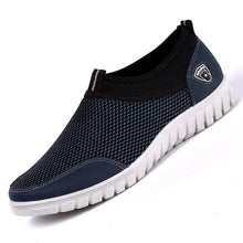 Load image into Gallery viewer, Summer mens Mesh Shoe Sneakers Breathable Slip-On Male Shoes Loafers 38-48