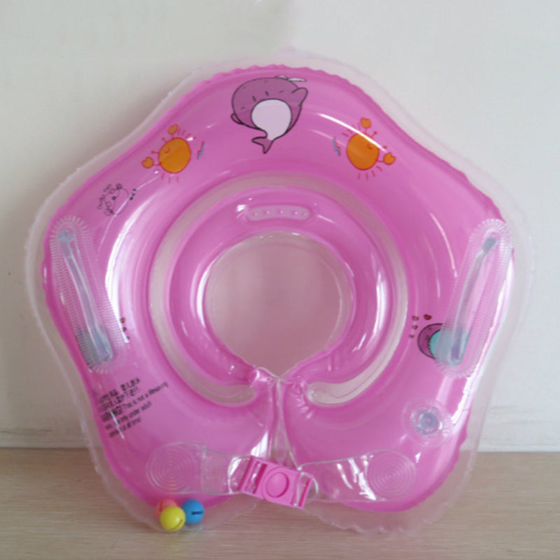 Baby-Infant Bathtub Inflatable Safety Float Circle with Neck Ring Fun for Baby!.