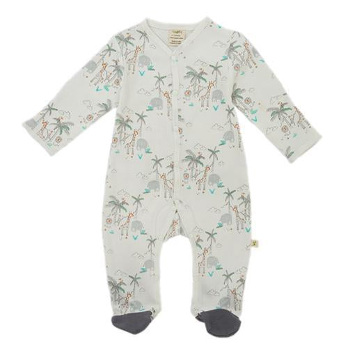 Forest Friends Organic Snap Growsuit