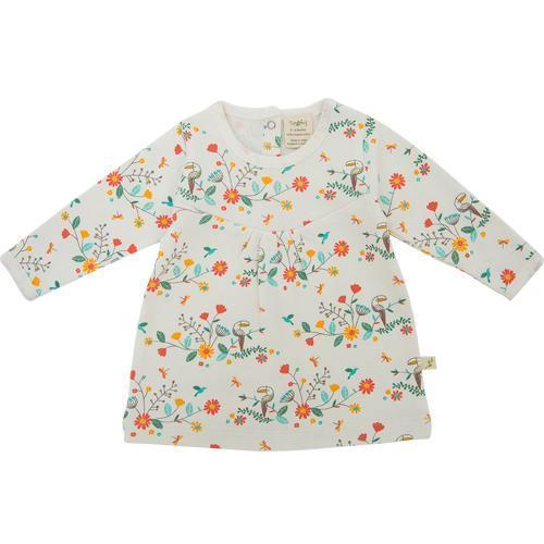 Rainbow Florals Senorita Organic Cotton Dress
