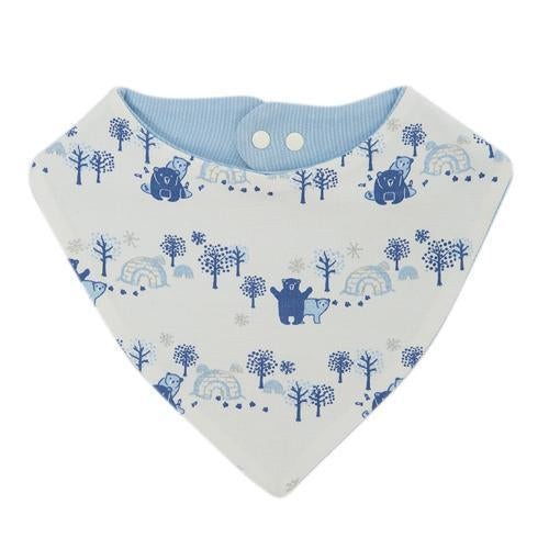 Arctic Dream Reversible Bandana Organic Bib