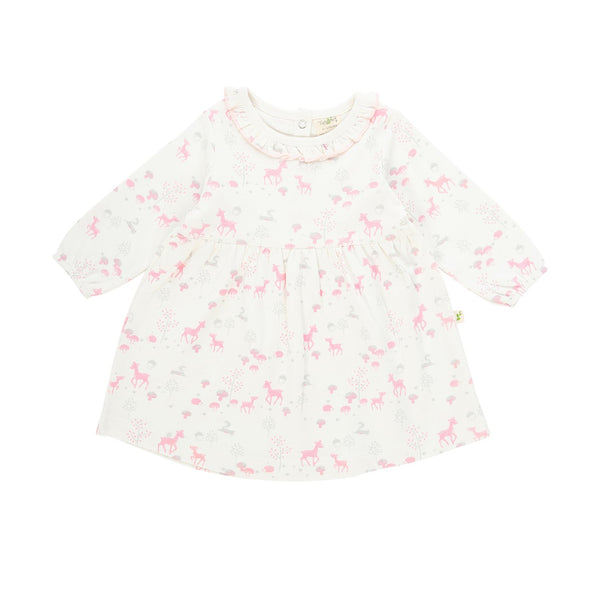 Soft Pink Bambino Organic Dress