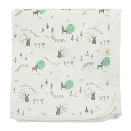 Woodland Dream Organic Bunny Rug