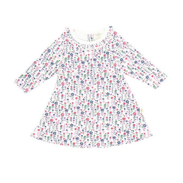 Pretty Florals Organic Daisy Dress