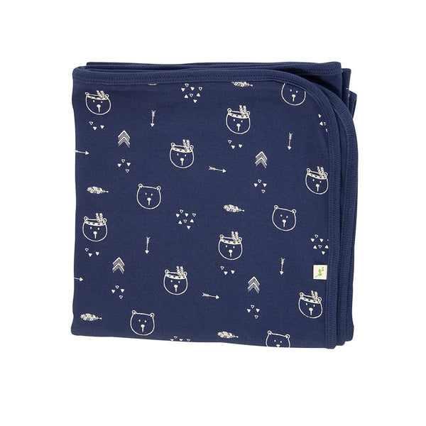 Bear Hugs Organic Cotton Blanket