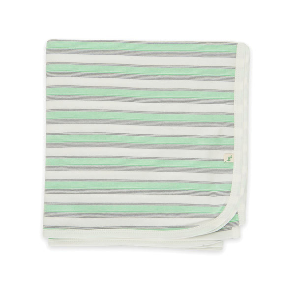 Cedar Stripes Organic Cotton Blanket
