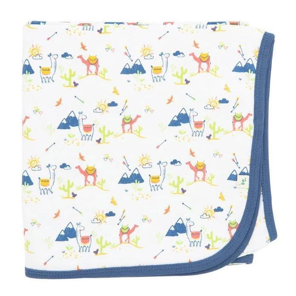 Desert Friends Organic Cotton Blanket