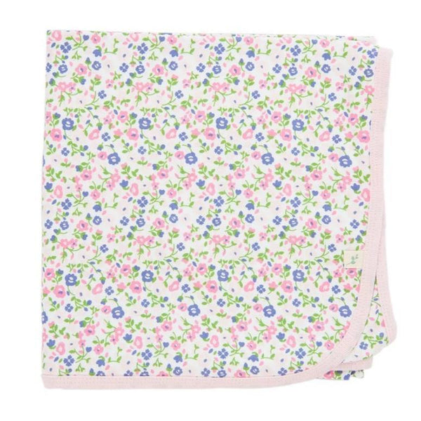 Summer Flowers Organic Cotton Blanket