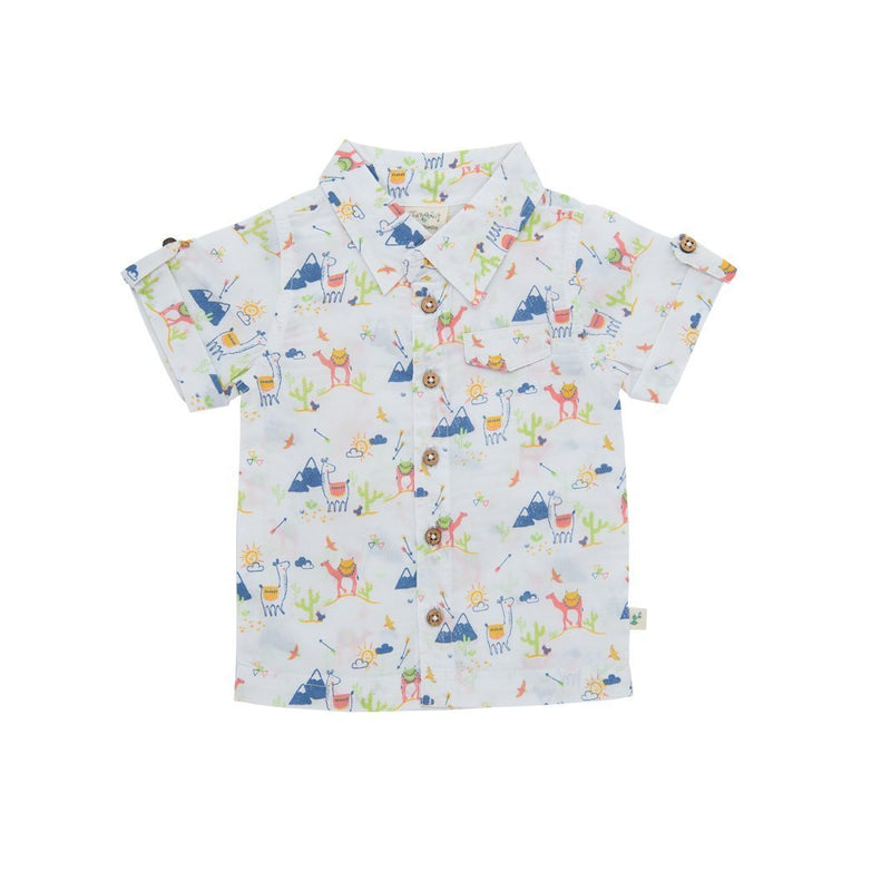 Desert Friends Cambric Organic Shirt