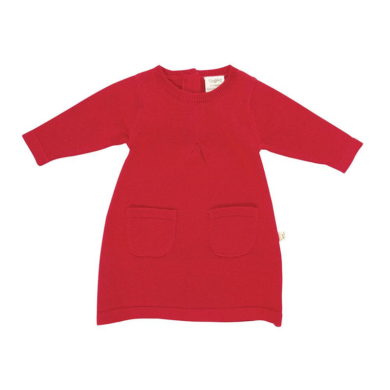 Tomato Knitted Fairy Organic Cotton Dress