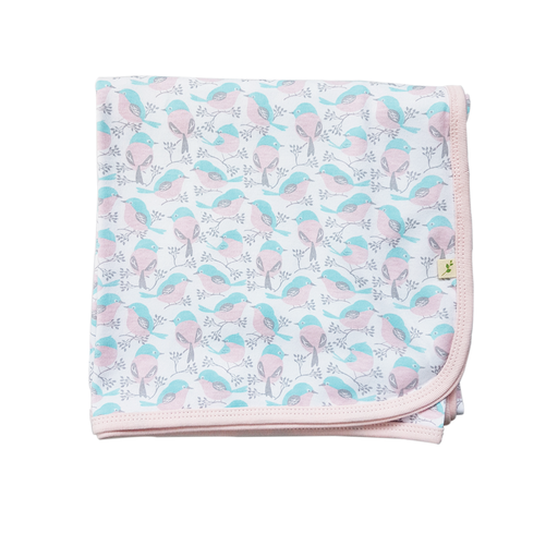 Love Birds Organic Blanket