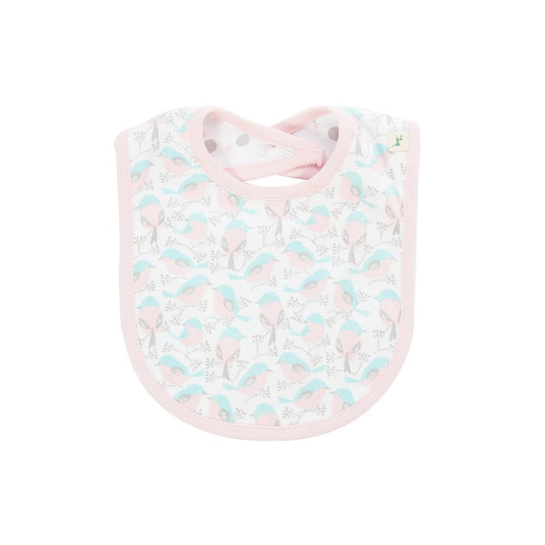 Love Birds Reversible Organic Bib