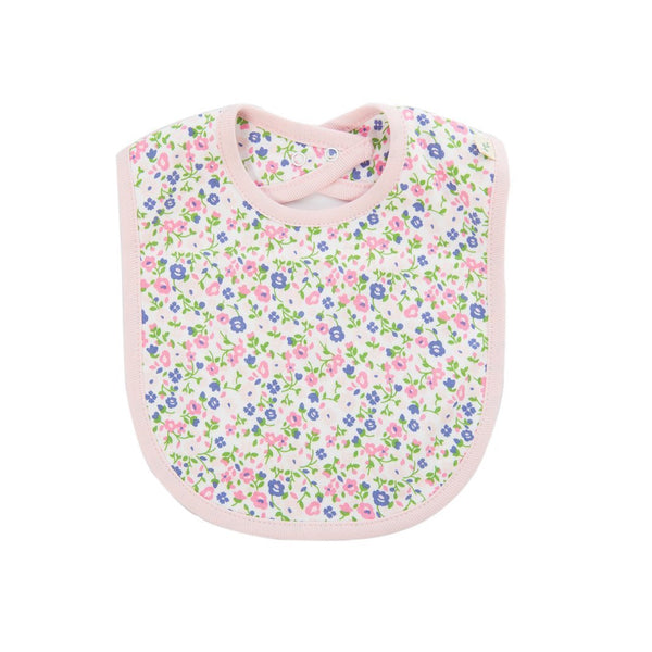 Summer Flowers Reversible Organic Bib