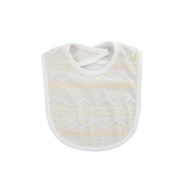 Tiny Tribal Reversible Organic Bib