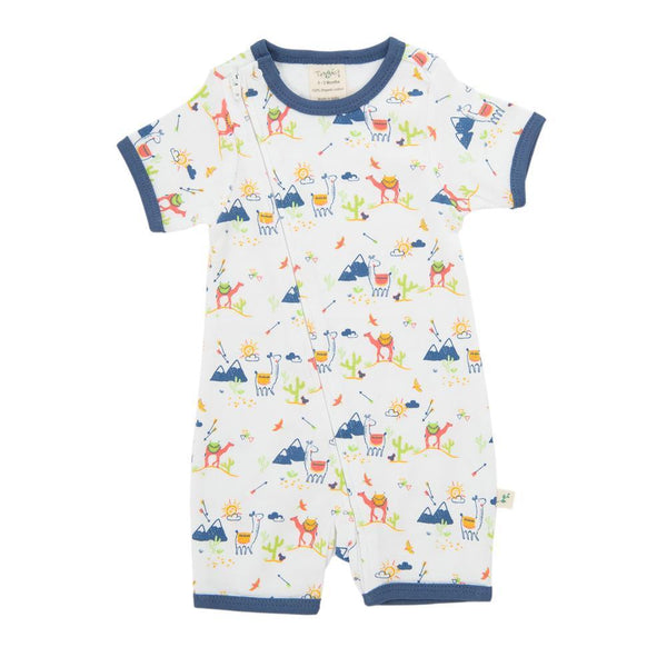 Desert Friends Organic Sleepsuit with Zip