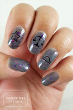 Load image into Gallery viewer, Libra Zodiac - Water Slide Nail Decals