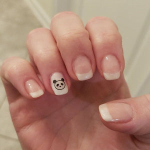 panda nail art decal