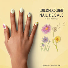 Load image into Gallery viewer, wildflower nail decals