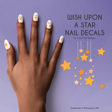 Load image into Gallery viewer, wish upon a star nail decals