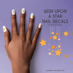 wish upon a star nail decals