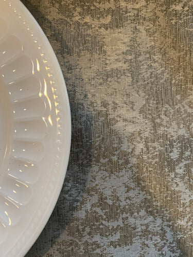 Marble Gray Tablecloth