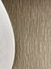 Load image into Gallery viewer, Burlap Linen Faux Leather Tablecloth