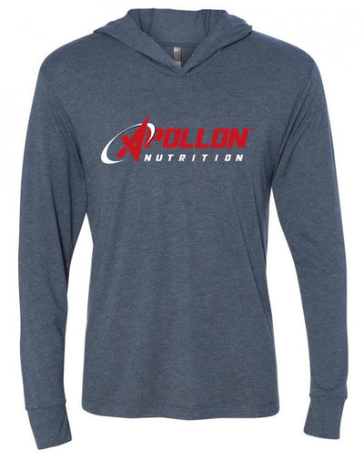 Apollon Nutrition Mens Hoodie Blue