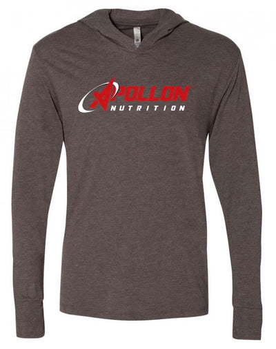 Apollon Nutrition Mens Hoodie Grey