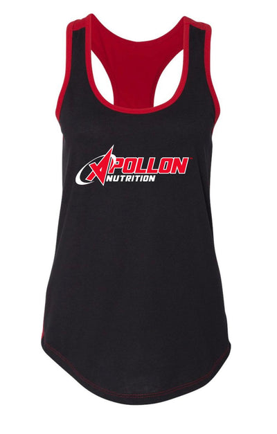 Black:Red Tank Top Front