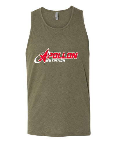 Greenish Tank Top Front