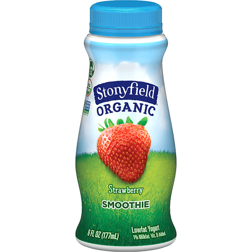 Stonyfield Probiotic Smoothie - Genius Gems